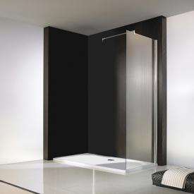 HSK Walk In Atelier side panel shield coating, light clear / chrome look