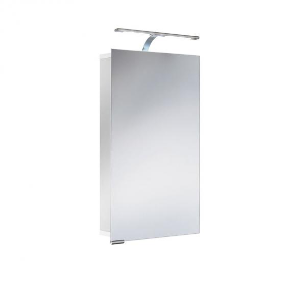 HSK ASP 300 LED aluminium mirror cabinet hinged right