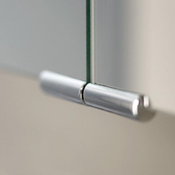 HSK ASP 300 LED aluminium mirror cabinet
