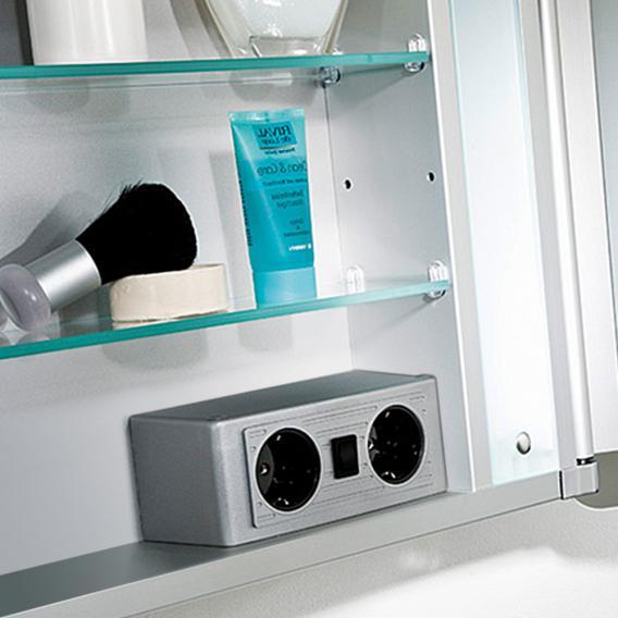 HSK ASP 500 aluminium mirror cabinet