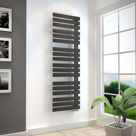 HSK Yenga bathroom radiator graphite black