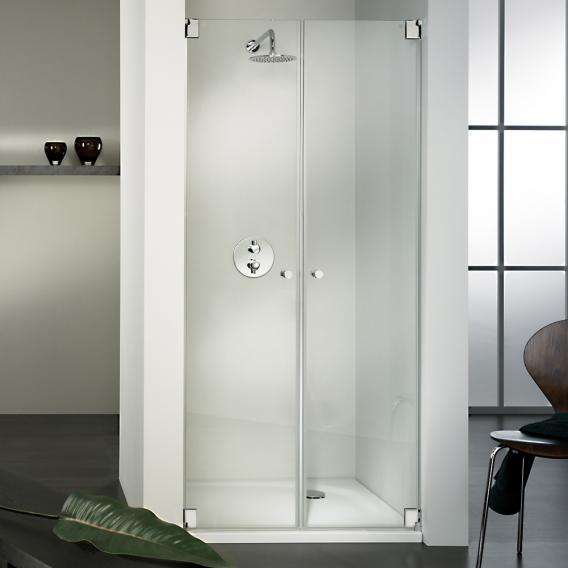 Hsk Edition Kienle Pivot Door For, Glass Shower Door Shield