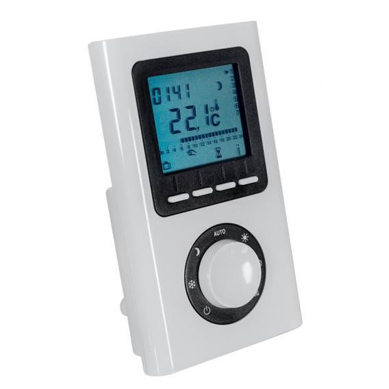 HSK heating element 4 with remote control white, 800 Watt