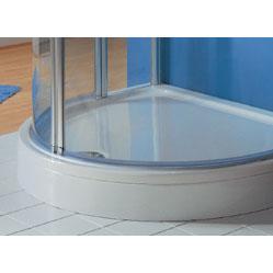 HSK panel 100 x 100 cm for shower tray 505100 white