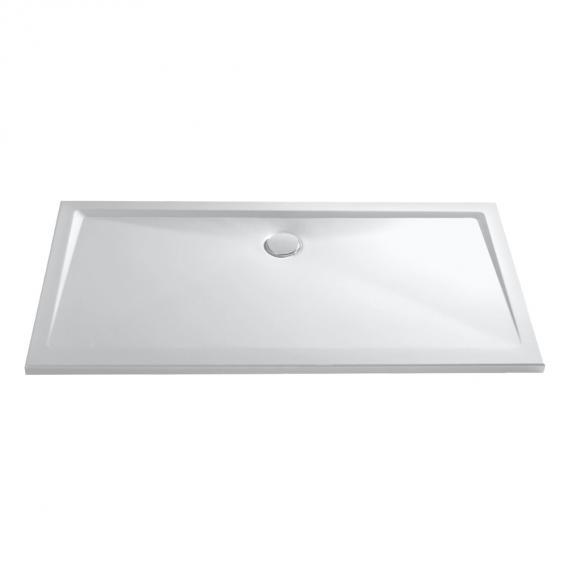 HSK rectangular shower tray, super flat white