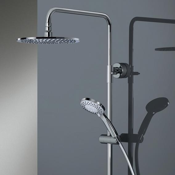 HSK RS 200 thermostatic shower set H: 1345 mm, overhead shower Ø 250 H: 8 mm