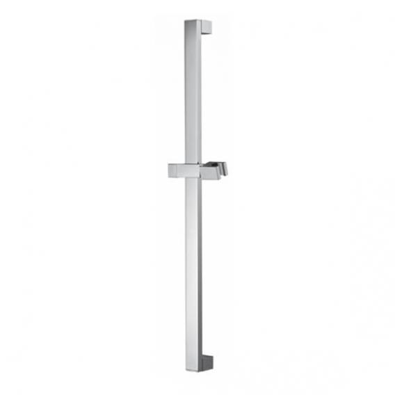 HSK shower rail, square, H: 755 mm