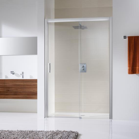 Hsk Solida Sliding Door For Recess, Glass Shower Door Shield
