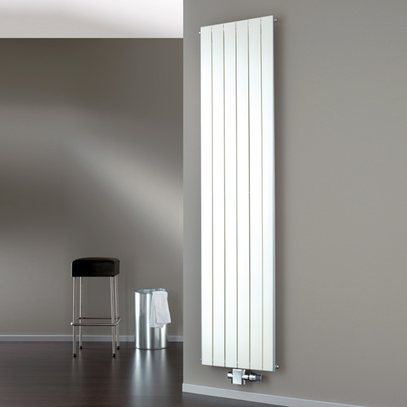 HSK Alto radiator with central connection white, 1127 Watt