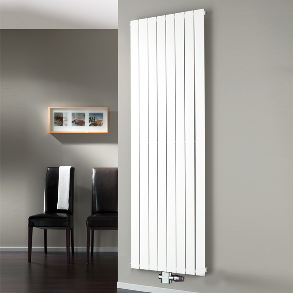 HSK ALTO radiator with centre connection white
