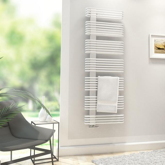 HSK Premium bathroom radiator white