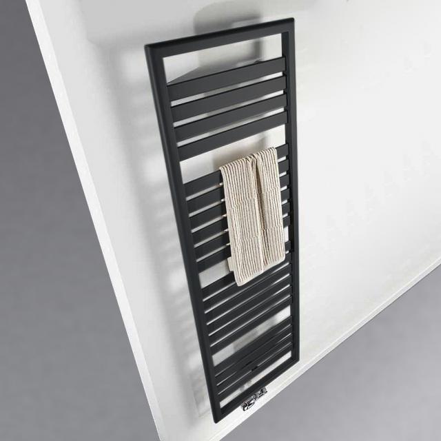 HSK bathroom radiator Image graphite black
