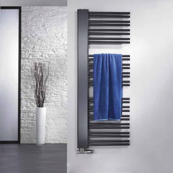 HSK Softcube Plus towel radiator anthracite, 871 Watt