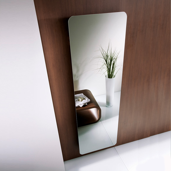 HSK Softcube radiator white/mirrored