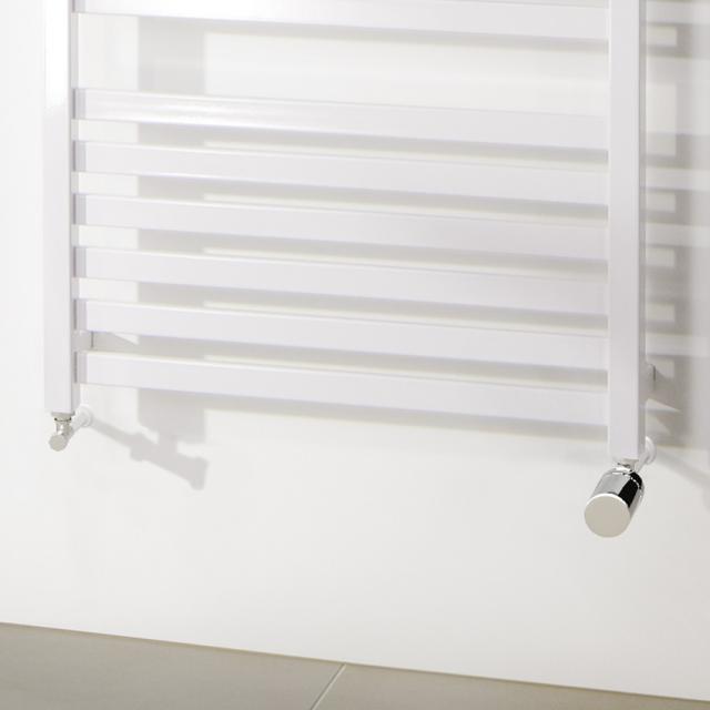 HSK wall side connection incl. design thermostat regulator, corner version