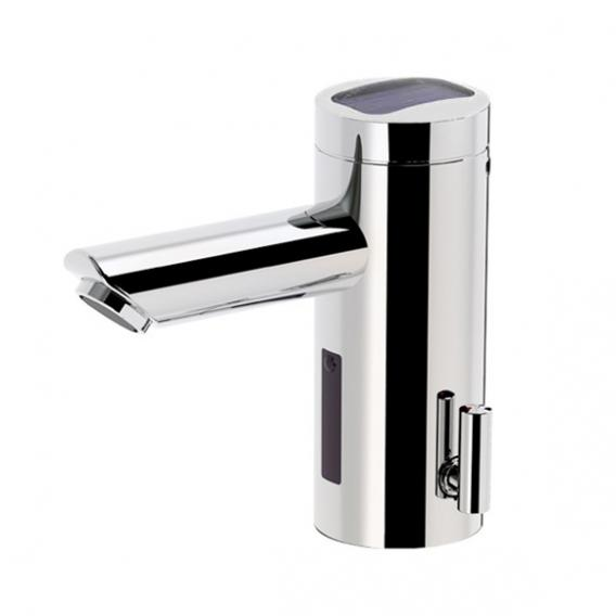 Conti+ lino L30 Comfort basin fitting with IR sensor, pressureless, solar powered without waste set