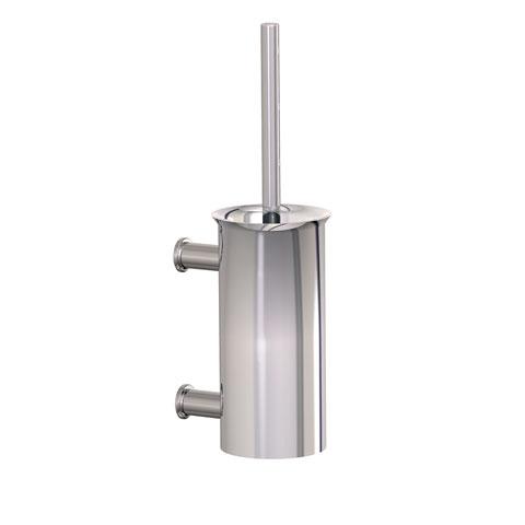 Conti+ HT toilet brush set matt brushed stainless steel