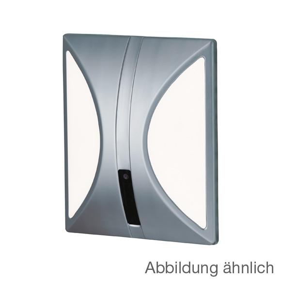 Conti+ lino U10 concealed urinal flush valve with IR sensor, mains powered matt chrome/white