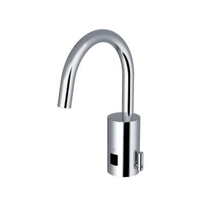 Conti+ loopino G10 Click-plus basin fitting with IR sensor, with temperature control battery-powered