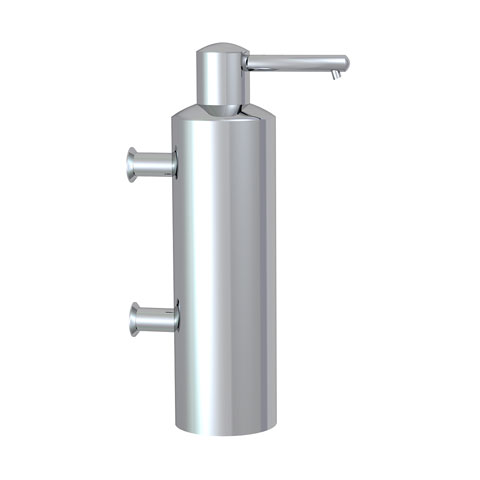 Conti+ Marathon wall-mounted soap dispenser matt brushed stainless steel