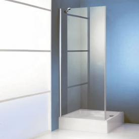 HÜPPE 501 Design pure side panel for swing door TSG clear / matt silver