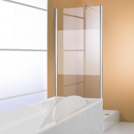 HÜPPE 501 Design pure side panel for swing door TSG privatima with ANTI-PLAQUE / matt silver
