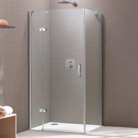 HÜPPE Aura elegance side panel TSG clear / matt silver