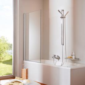 HÜPPE Design elegance bath screen 1 piece TSG clear / chrome