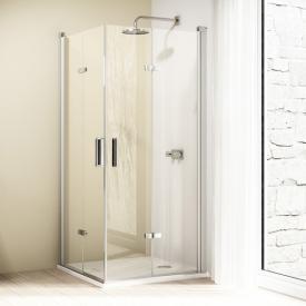 HÜPPE Design elegance folding swing door TSG clear / chrome