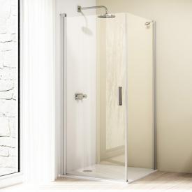 HÜPPE Design elegance side panel for swing door TSG clear / matt silver