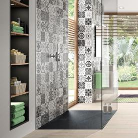 Hüppe EasyFlat square/rectangular shower tray matt anthracite