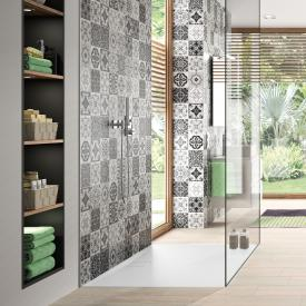 HÜPPE EasyFlat square/rectangular shower tray matt white