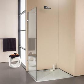 HÜPPE Enjoy elegance frameless standalone side panel TSG clear / chrome