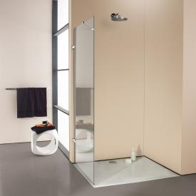 Hüppe Enjoy elegance frameless standalone side panel TSG clear / chrome
