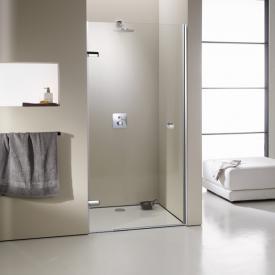 HÜPPE Enjoy elegance frameless swing door in rece framelessss TSG clear / chrome
