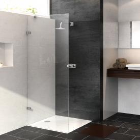 HÜPPE Enjoy pure frameless standalone side panel TSG clear / chrome