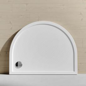 HÜPPE Purano D-shaped shower tray with antislip