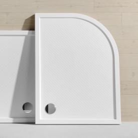 HÜPPE Purano quadrant shower tray with anti-slip white