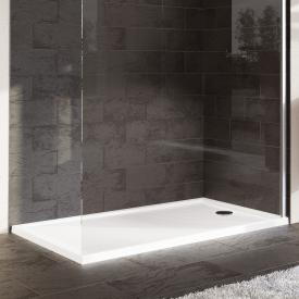 HÜPPE Purano square shower tray with anti-slip white with anti-slip coating