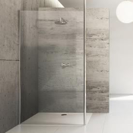 HÜPPE Studio Berlin pure side panel standalone clear glass with ANTI-PLAQUE / shiny chrome