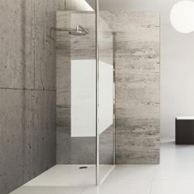HÜPPE Studio Berlin pure partially frameless Walk In model 4 TSG privatima with ANTI-PLAQUE / chrome