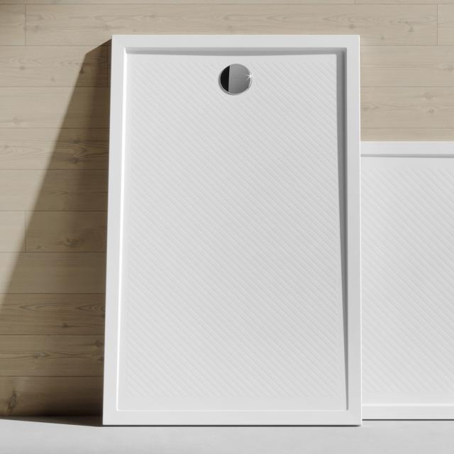 HÜPPE Purano square/rectangular shower tray white