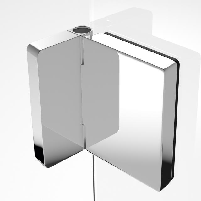HÜPPE Solva pure exterior wall bracket, adjustable