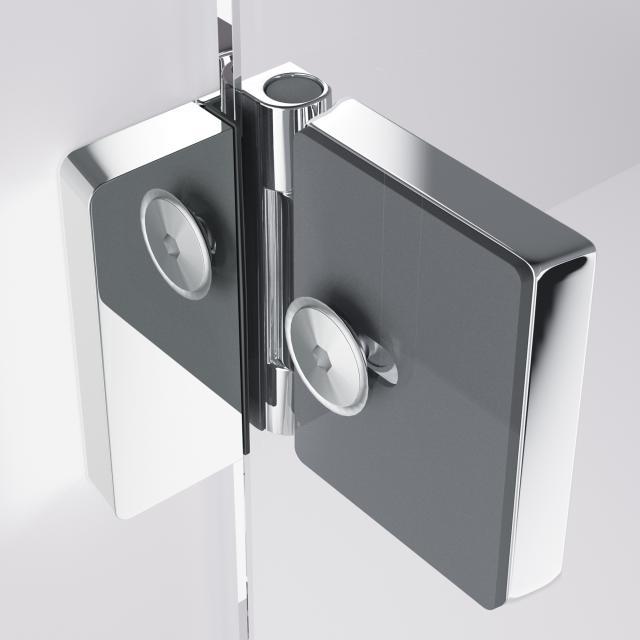 HÜPPE Solva pure interior wall bracket, adjustable