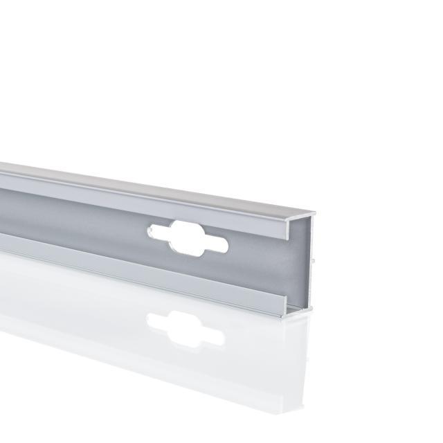 HÜPPE widening profile by 1.5 cm H: 190 cm matt silver