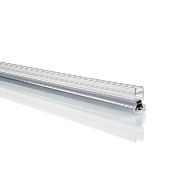 HÜPPE Xtensa pure extension set recess silver high gloss