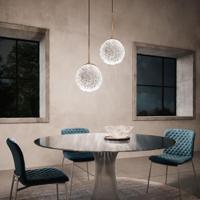 ICONE Cristalglob LED pendant light