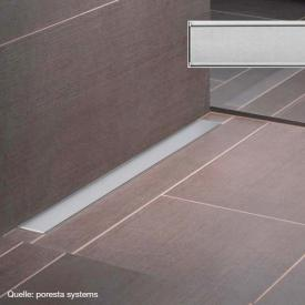 poresta systems grate for shower channel design E