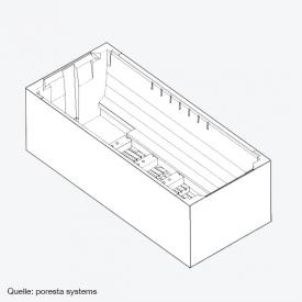 poresta systems Poresta Compact bath support frame V&B Architectura L: 140 W: 70 cm
