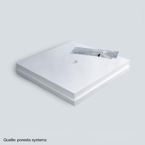 poresta systems base set panel thickness 8 cm